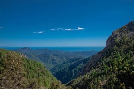 mare e monti, dal Rifugio Allavena